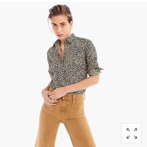 NWT slim stretch perfect shirt from J. Crew!